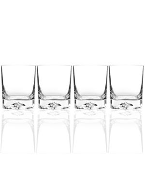 Luigi Bormioli Glassware, Set of 4 On the Rocks Double Old-Fashioned Glasses