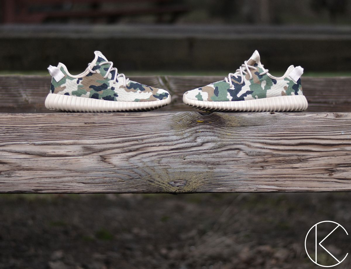 adidas Yeezy Boost 350 Goes Camo on New Custom | Estilo