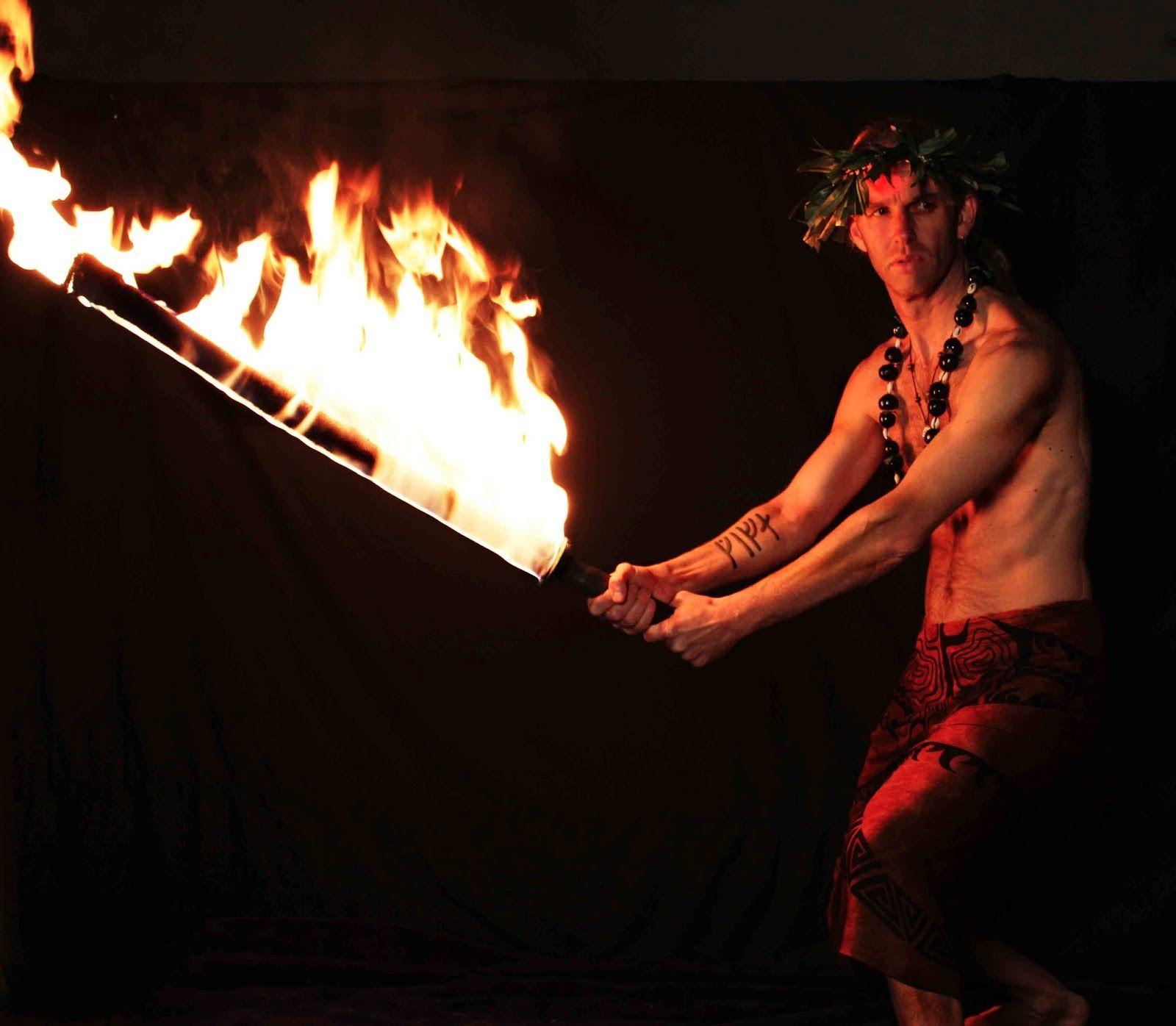 Samoan Fire Sword Fire Dancer Samoanfire Mantrest