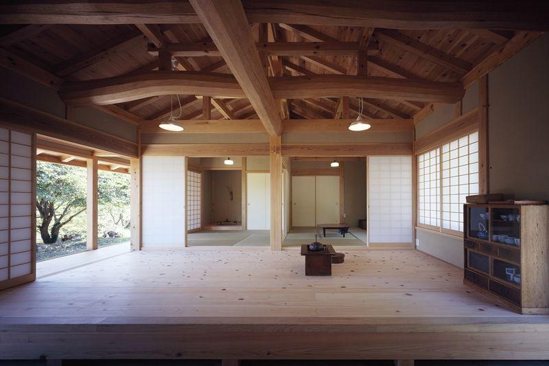 伝統工法による木造建築の建築家 深田真 惺々舎 鴨川の家 日本