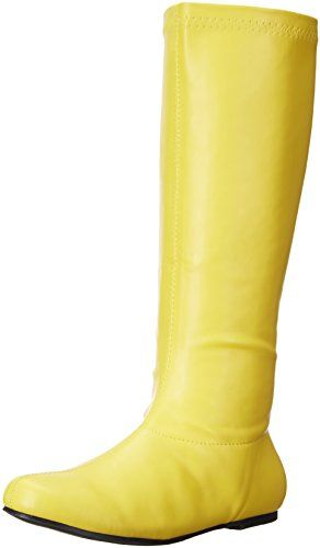 Ellie Shoes Womens 106Avenge Engineer Boot Yellow 7 M US *** For more information, visit image link.