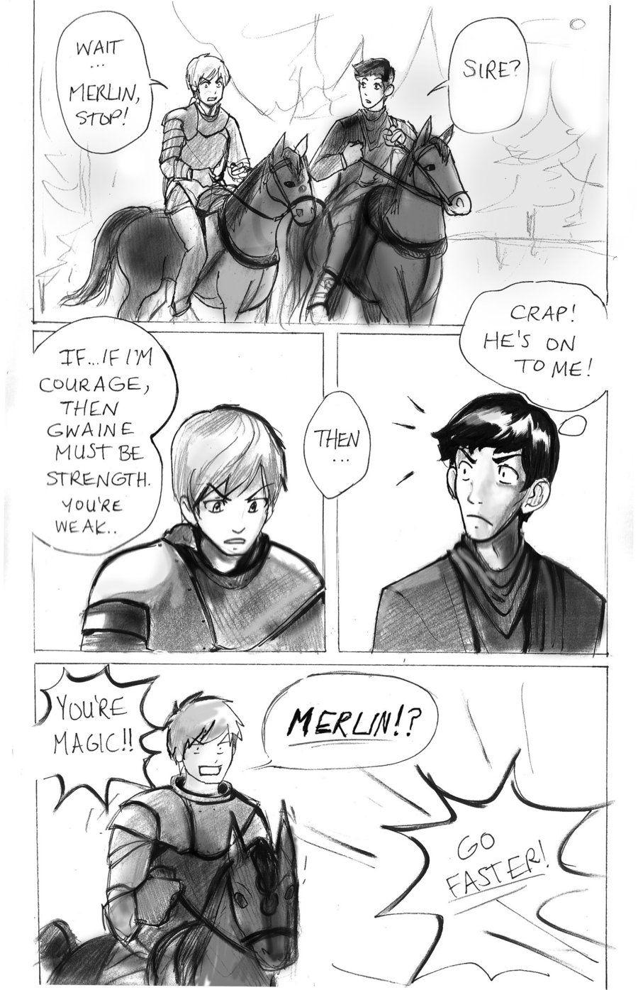 merlin magic reveal | Tumblr