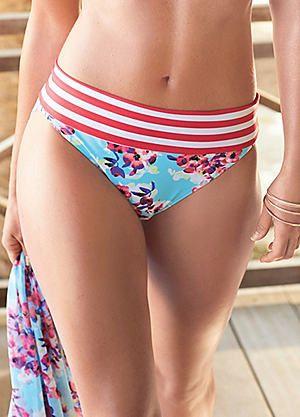 a9bb9e7753 Mix   Match Roll Top Bikini Briefs  kaleidoscope  swimwear  holiday ...