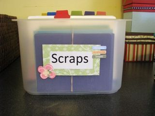 Scrapbook Paper Storage Ideas | More Scrap Paper Storage | Scrapbook   Room  Storage Ideas