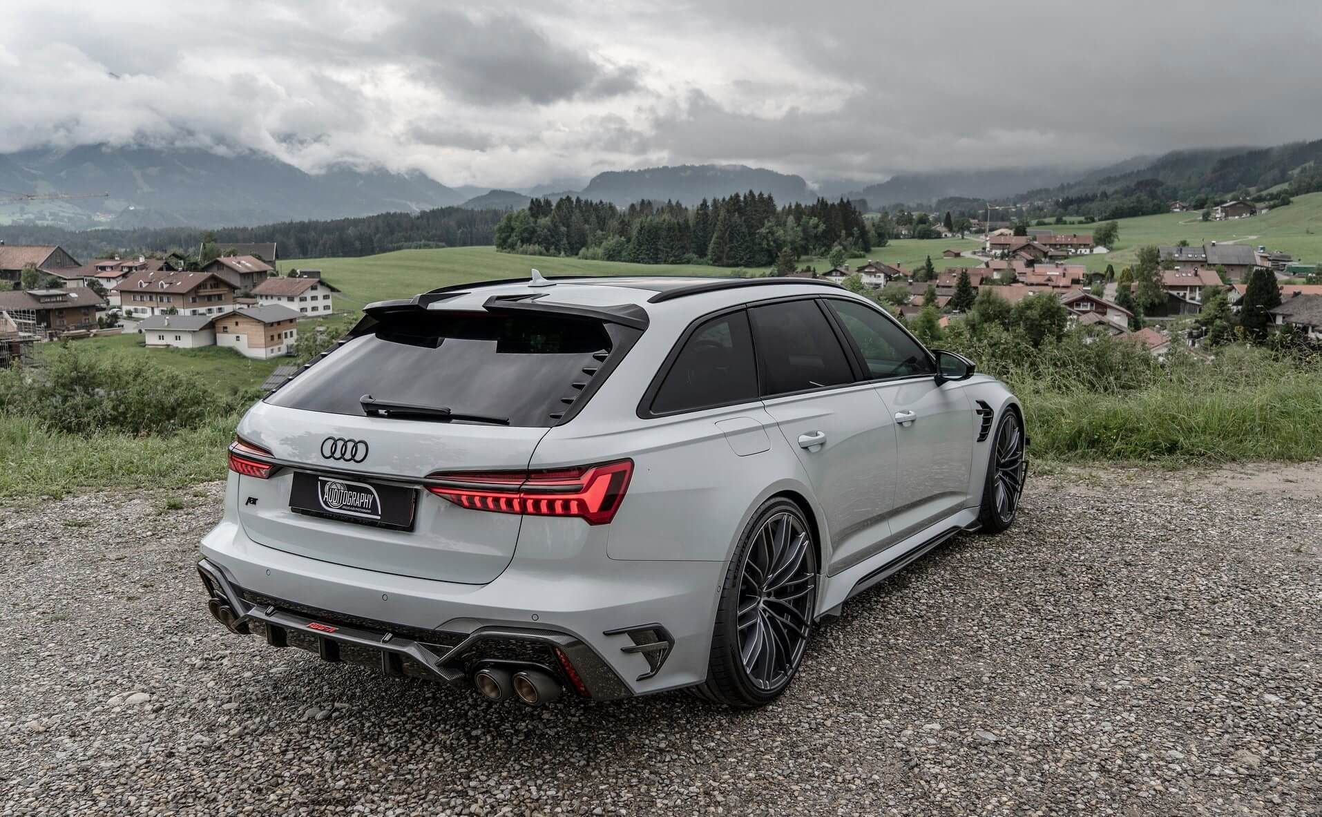 2021 Audi Rs6 R Avant By Abt In Glacier White Looks The Business Audi Rs6 Audi Rs Audi