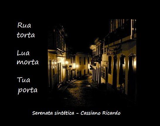 Serenata sintética - Cassiano Ricardo