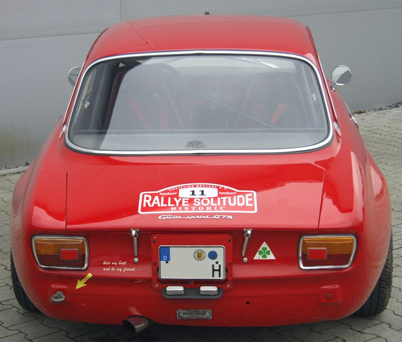 1968 Alfa Giulia Sprint GTA Replica (built In 1971