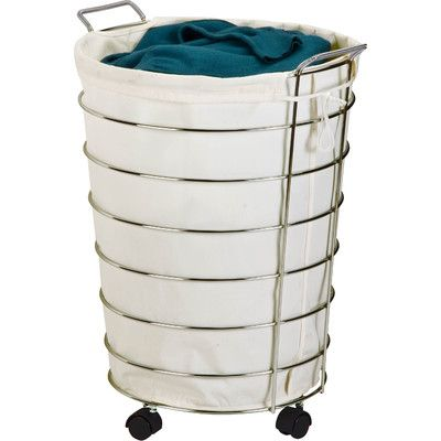 Honey Can Do Rolling Hamper Reviews Wayfair With Images