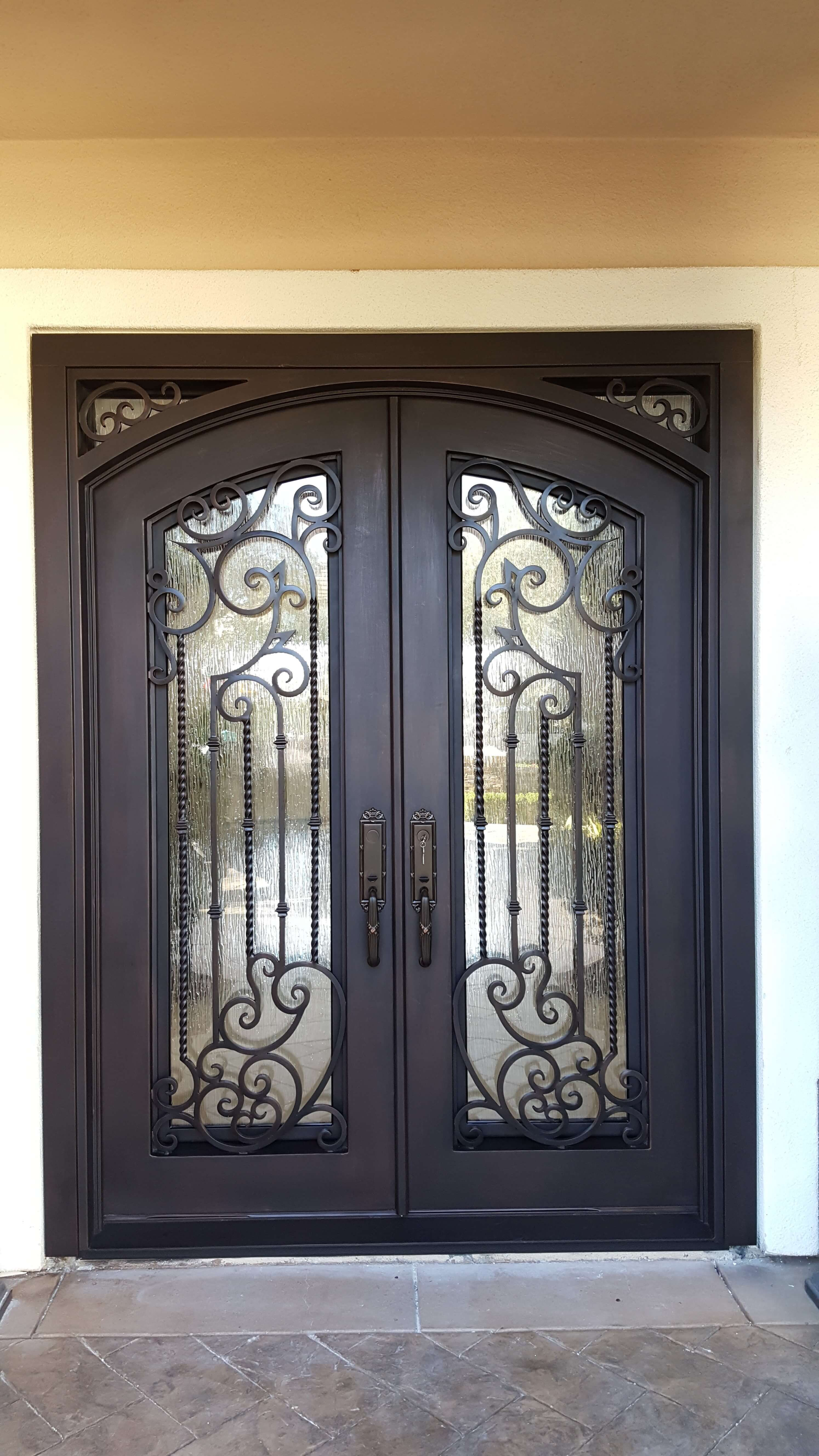 Tampa Wrought Iron Entry Door Wrought Iron Entry Doors Iron