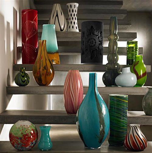 utiliza jarrones piedras o cristales como objetos On jarrones decorativos para jardin