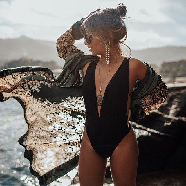 Body pour Femme String Body Body One Piece Lingerie Mode Chic Under Warm Shoe Body String Justaucorps Bikini Maillot De Bain