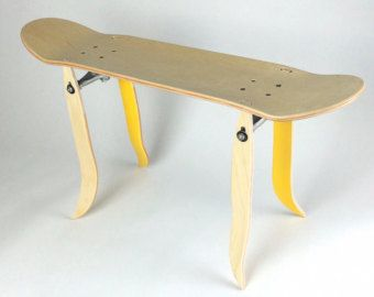 Stool Skateboard Or Footrest Red Color Gift For