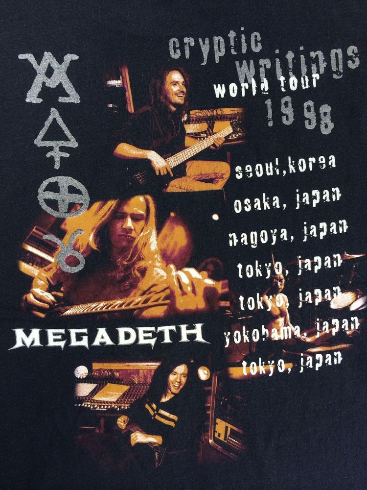 Megadeth tour dates in Melbourne