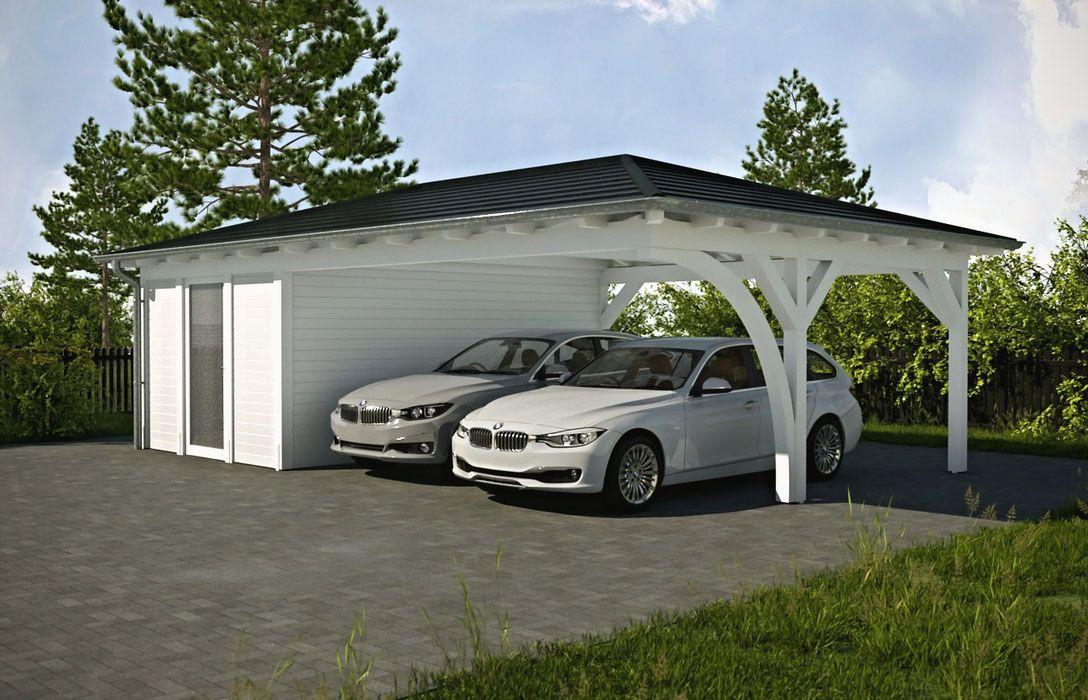 walmdach carport am haus solarterrassen carportwerk gmbh for the home. Black Bedroom Furniture Sets. Home Design Ideas