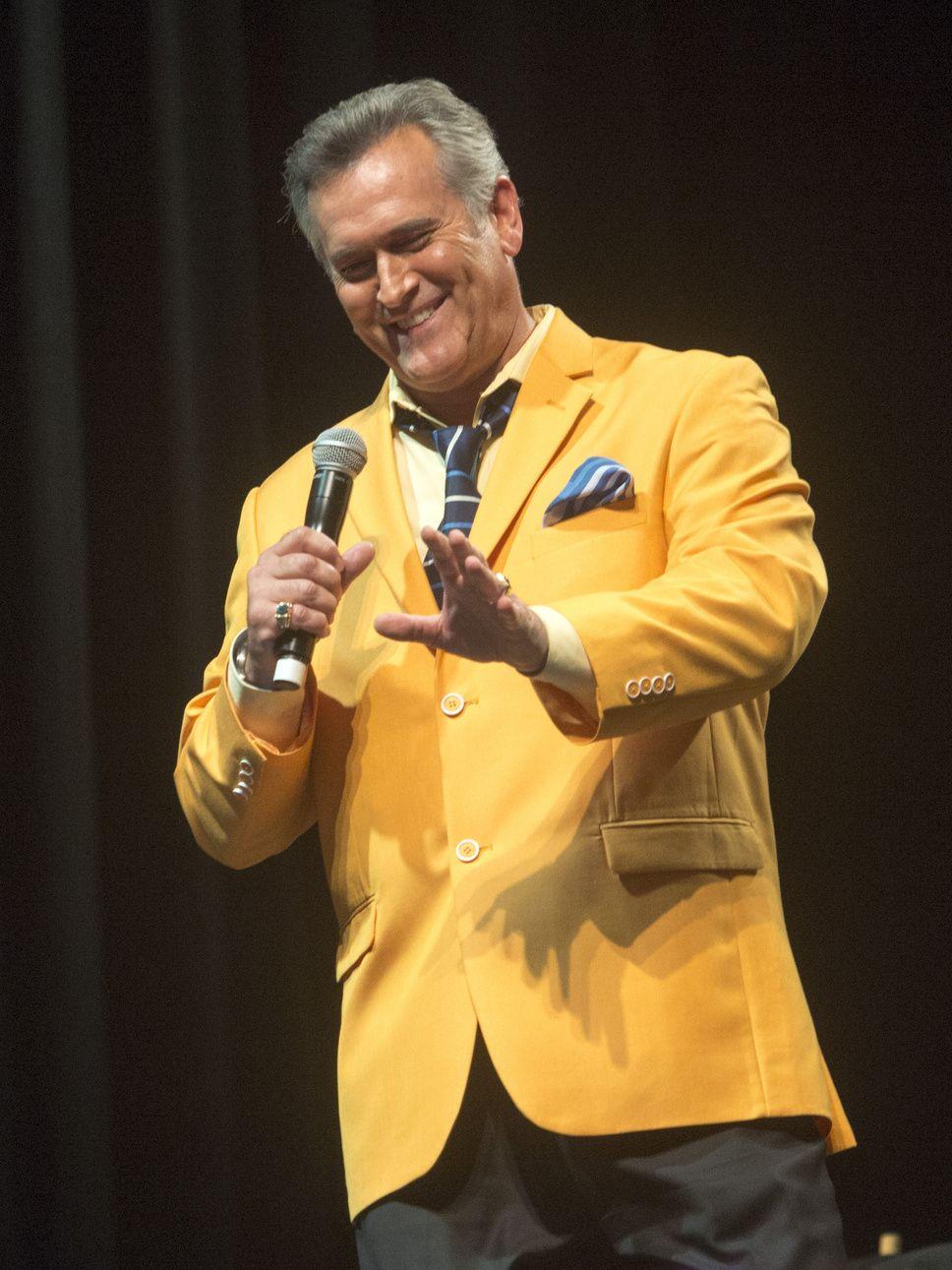 Bruce Campbell Salt Lake Comic Con 2014