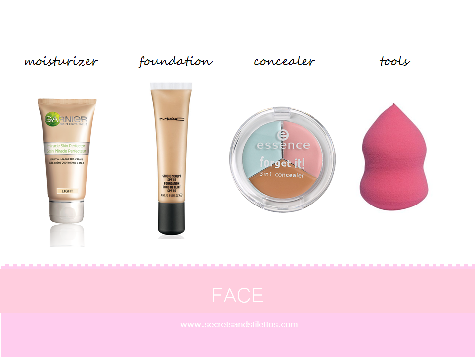 Basic makeup products for makeup beginners! Cr to the