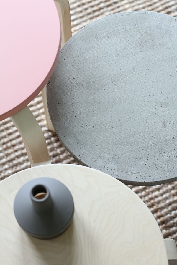 Bambula: DIY | concrete stool table