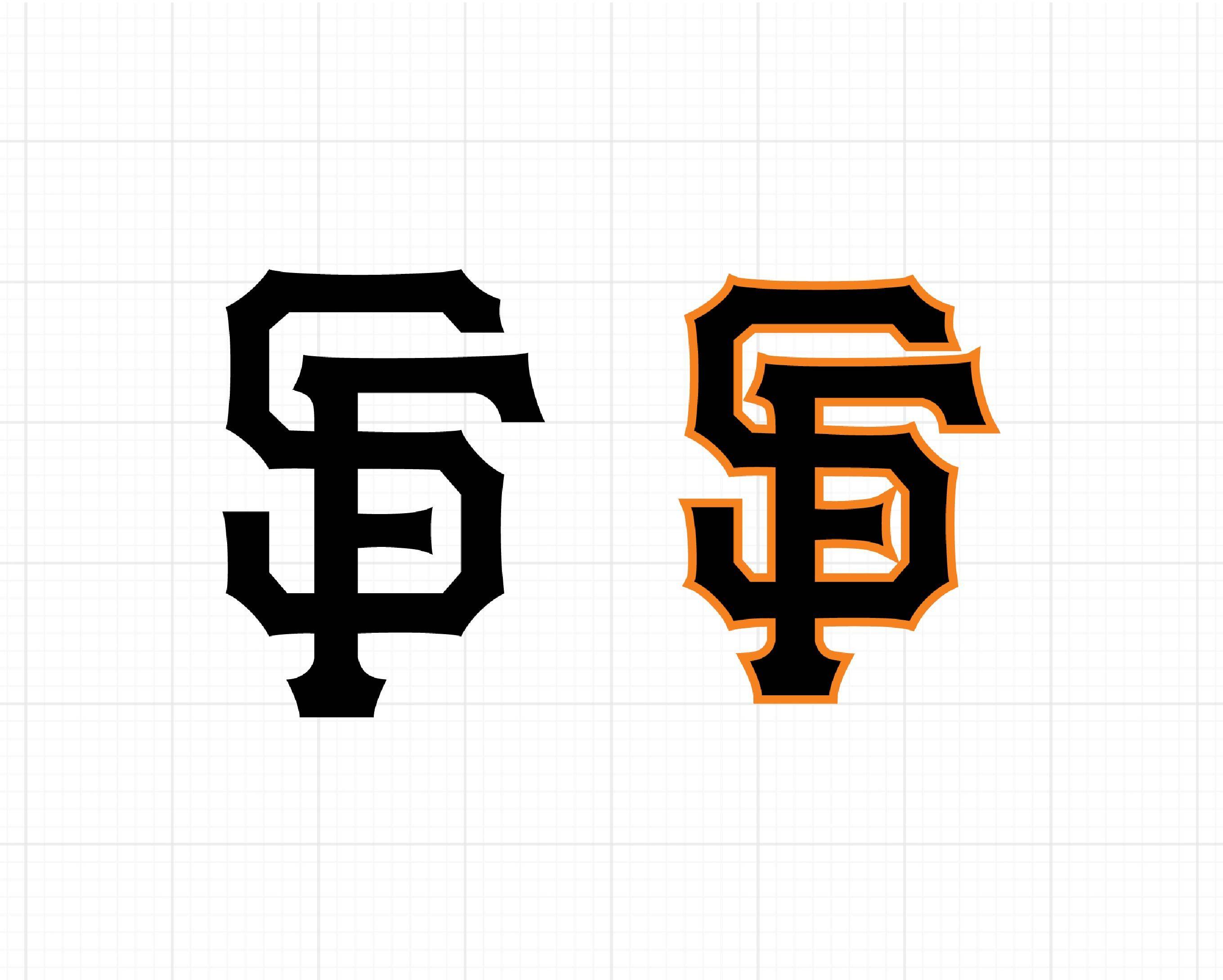 San Francisco Giants Logo Giants Emblems Sf Giants Decals Svg Png Dxf Eps Ai Baseball
