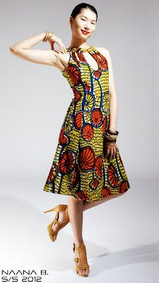 Naana B African Fashion African Fashion Designers African Print Clothing