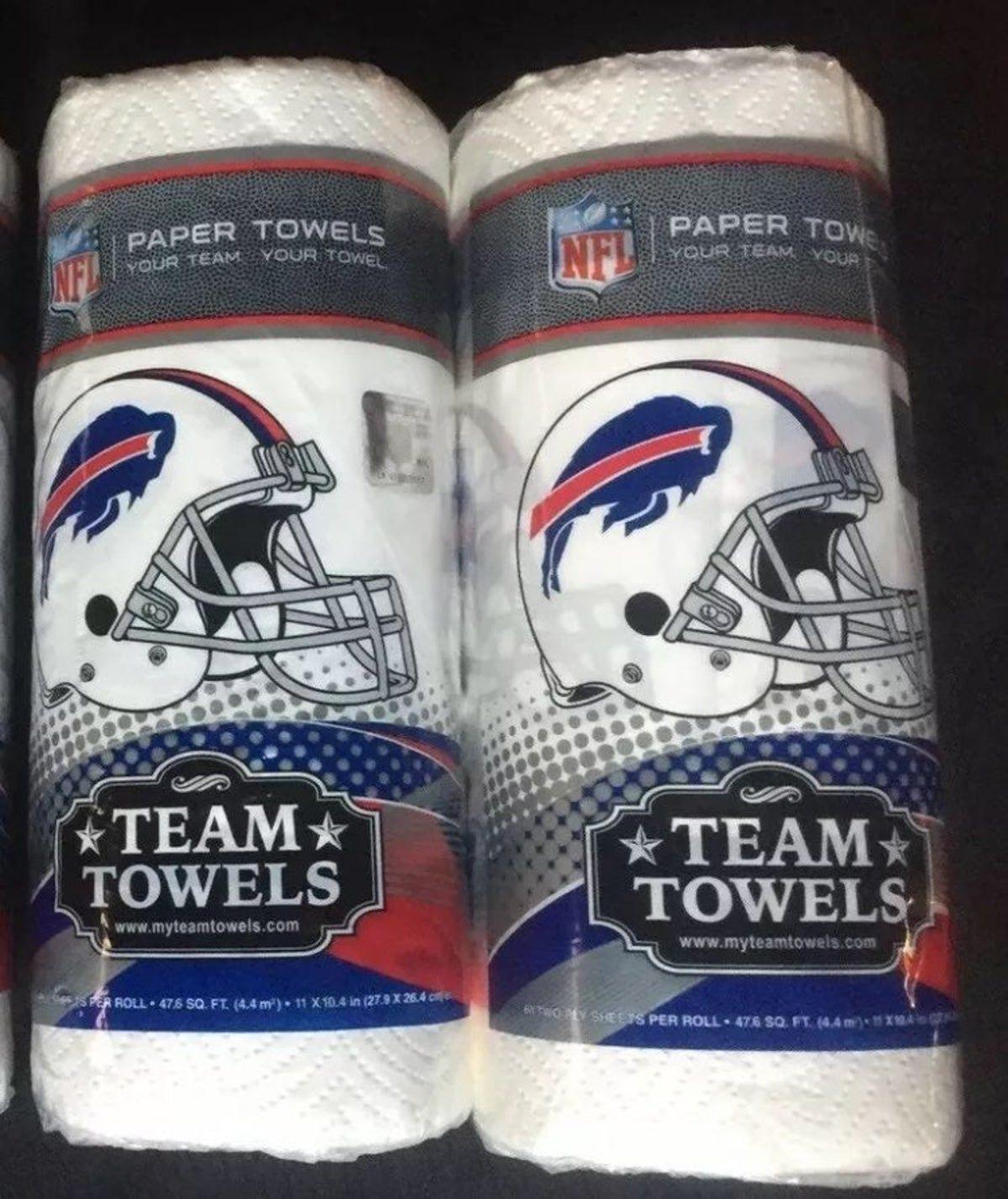 NFL Team Paper Towels BUFFALO BILLS on Mercari in 2020