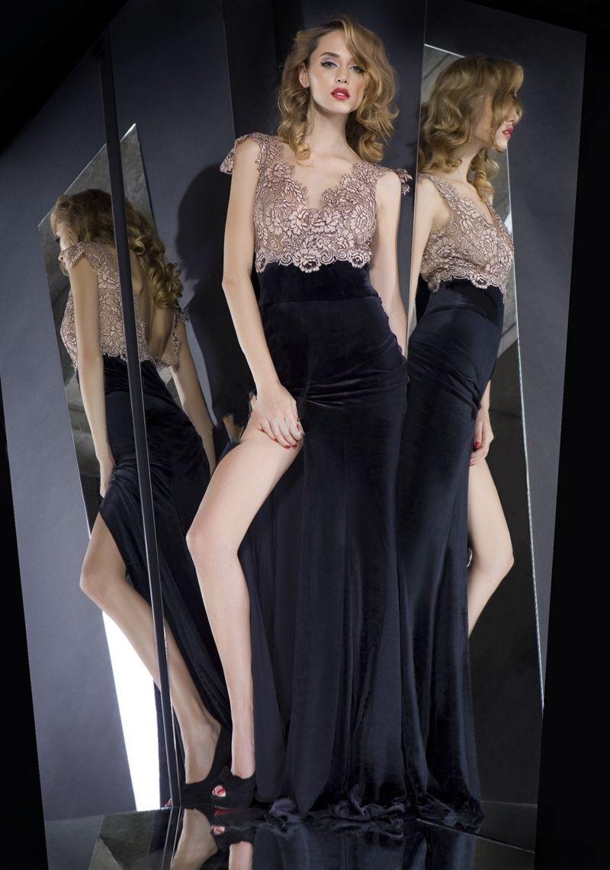 Romantic sexy elegant long dress plus size aline floorlength lace