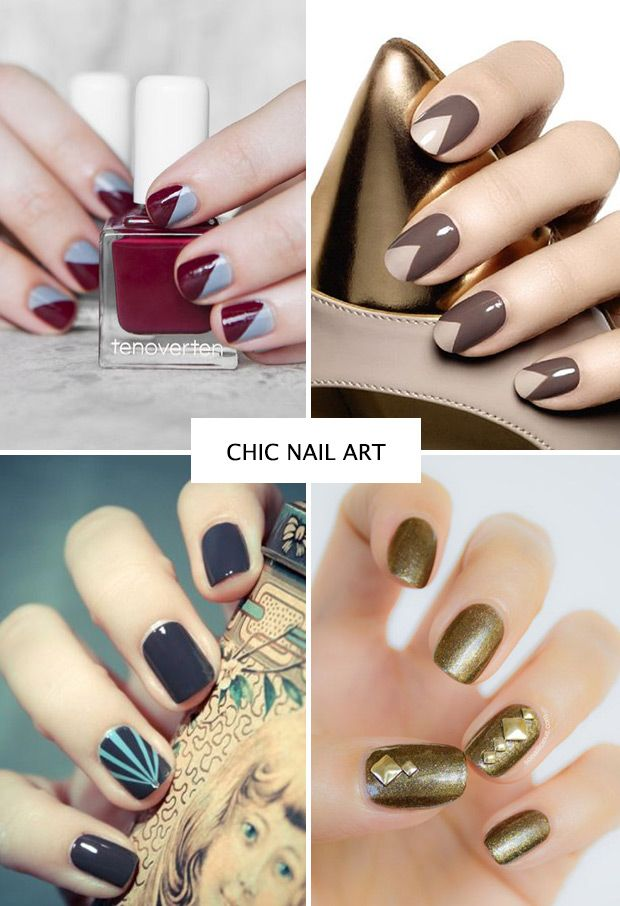 Nailed It! Autumn Nail Trends for 2014 | Winter nail art, Nail art ...