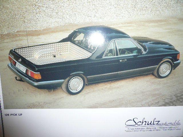 Mercedes W126 Pick Up Alte Autos Schone Autos Autos