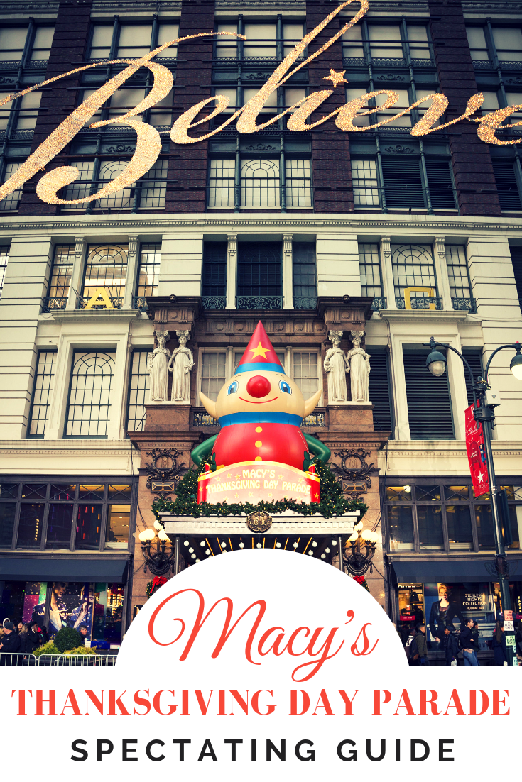 9aacf41139ea Headed to the Macy's Thanksgiving Day Parade in New York City? Check out  our ultimate spectating guide to find out where to stand and where to stay.  via @ ...