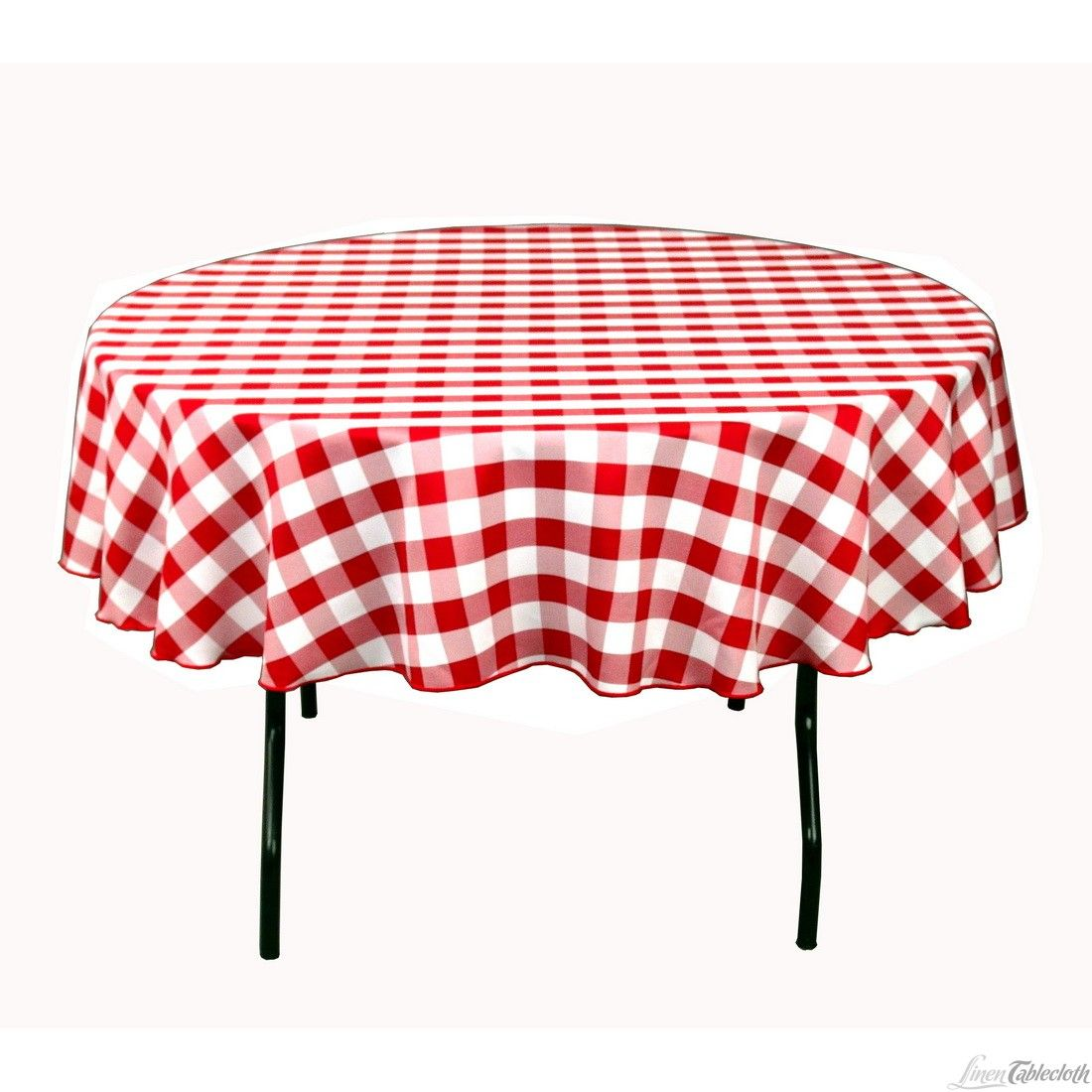 Awesome Buy 90 Inch Round, Red U0026 White Checkered Tablecloth For Weddings! Seamless  And Machine Washable Table Linens, These Wedding Tablecloths Are Perfect  For ...