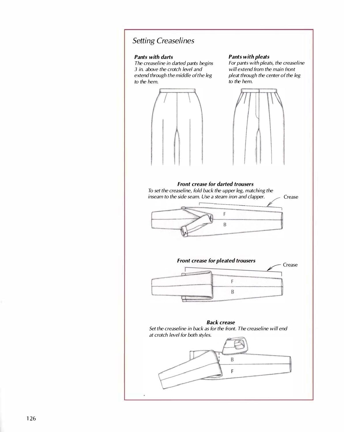 Easy guide to sewing pants newspaper and patterns easy guide to sewing pants sewing pantspattern makingfashion tips jeuxipadfo Image collections