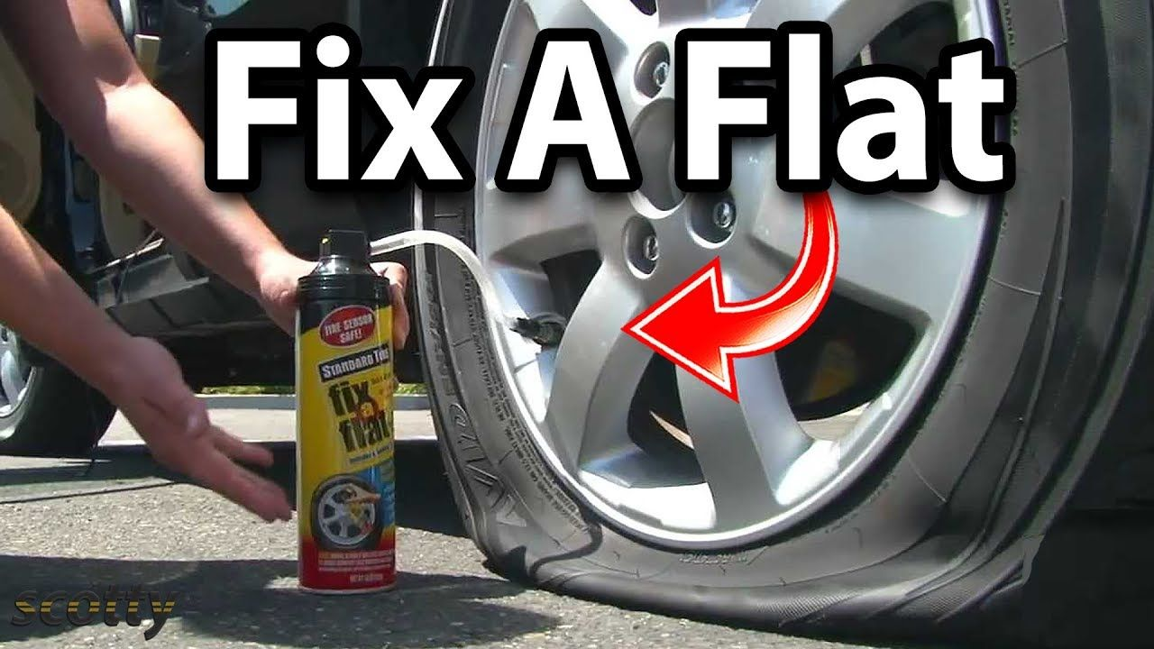 Does fixaflat really work how fix a flat tire flat
