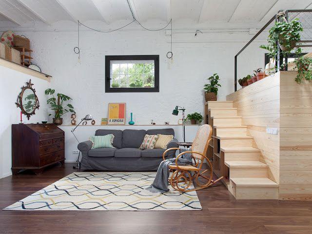 La Buhardilla Decoracin Diseo y Muebles De antiguo garaje a