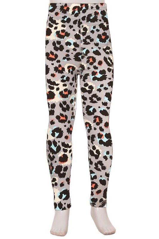 ee0d8b573b425a leopard printed leggings, kids leopard theme, leopard print, cheetah pants, animal  print clothing, animal print kids