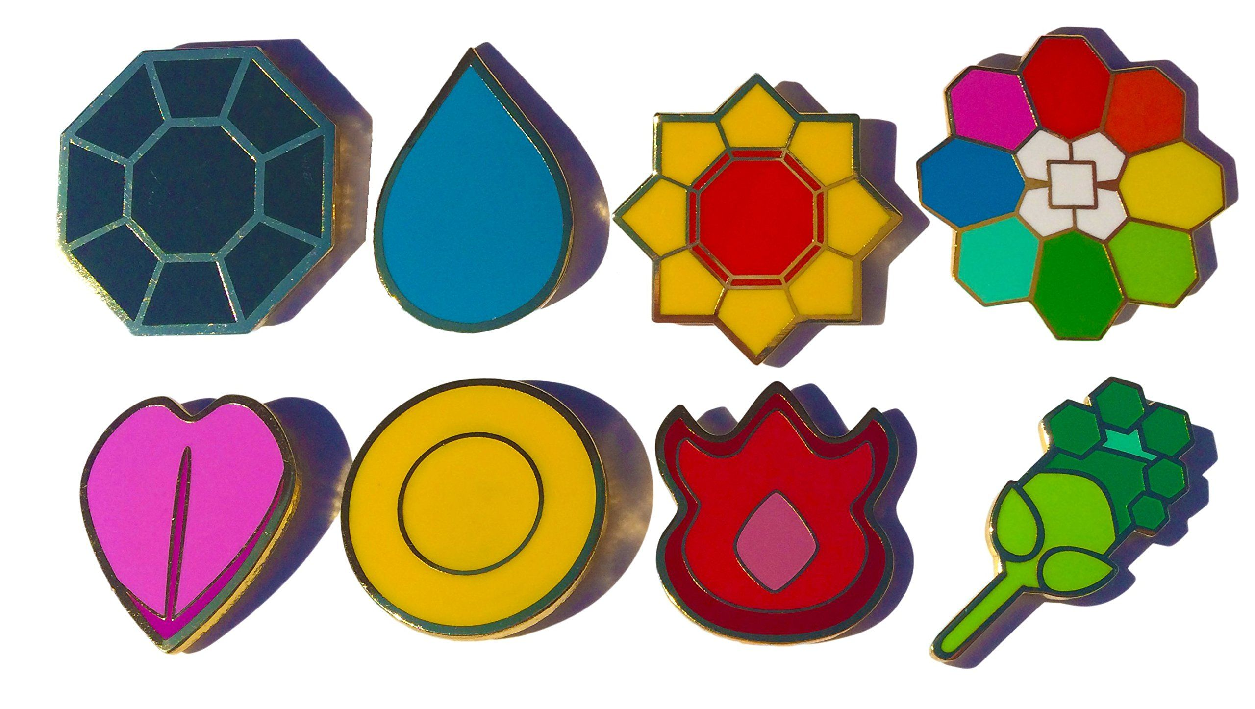 Gen 1 pokemon badges