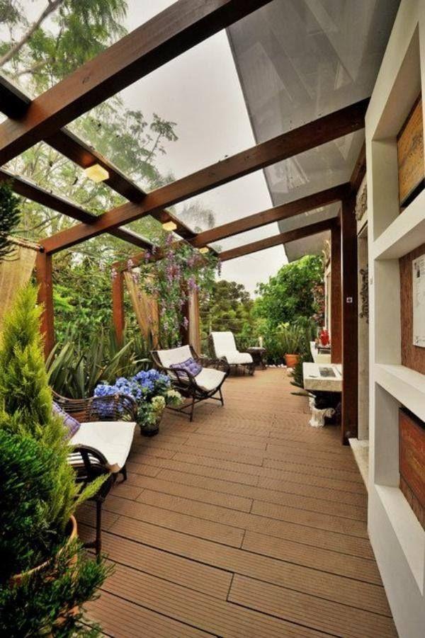 Terrasse extérieure en 18 photos laquelle avez-vous choisi - meuble en fer design