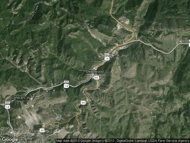 town map deadwood - Google Search | South dakota, Map