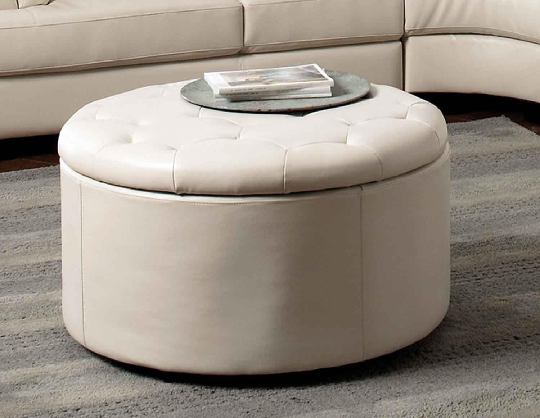 Awesome Coaster Landen Storage Ottoman Cream Living Room Idea Cjindustries Chair Design For Home Cjindustriesco