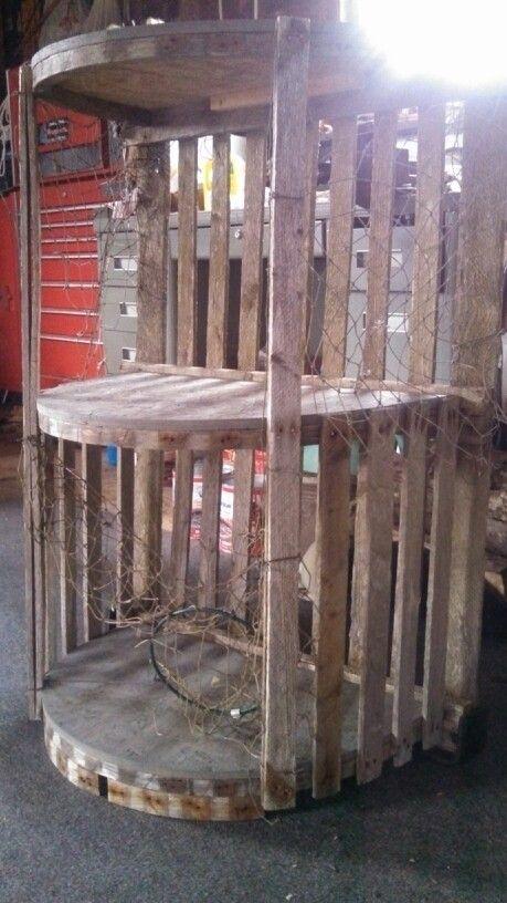 Repurposed Wooden Lobster Trap