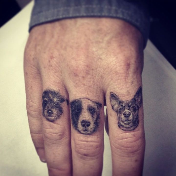 Dr woo dogs tattoo tattoo pinterest tattoo dog and for Animal finger tattoos