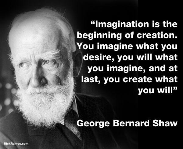George Bernard Shaw Quotes Amusing On Imagination  George Bernard Shaw Quotes  Lifestyle  Pinterest