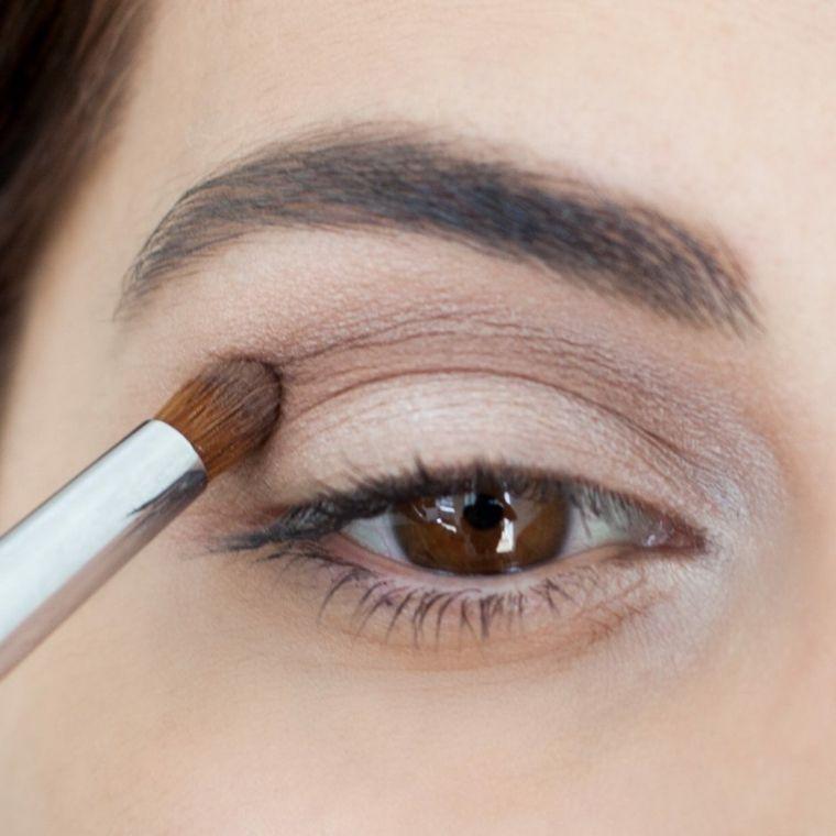 como se maquillan los ojos ahumados en casa Maquillaje Pinterest