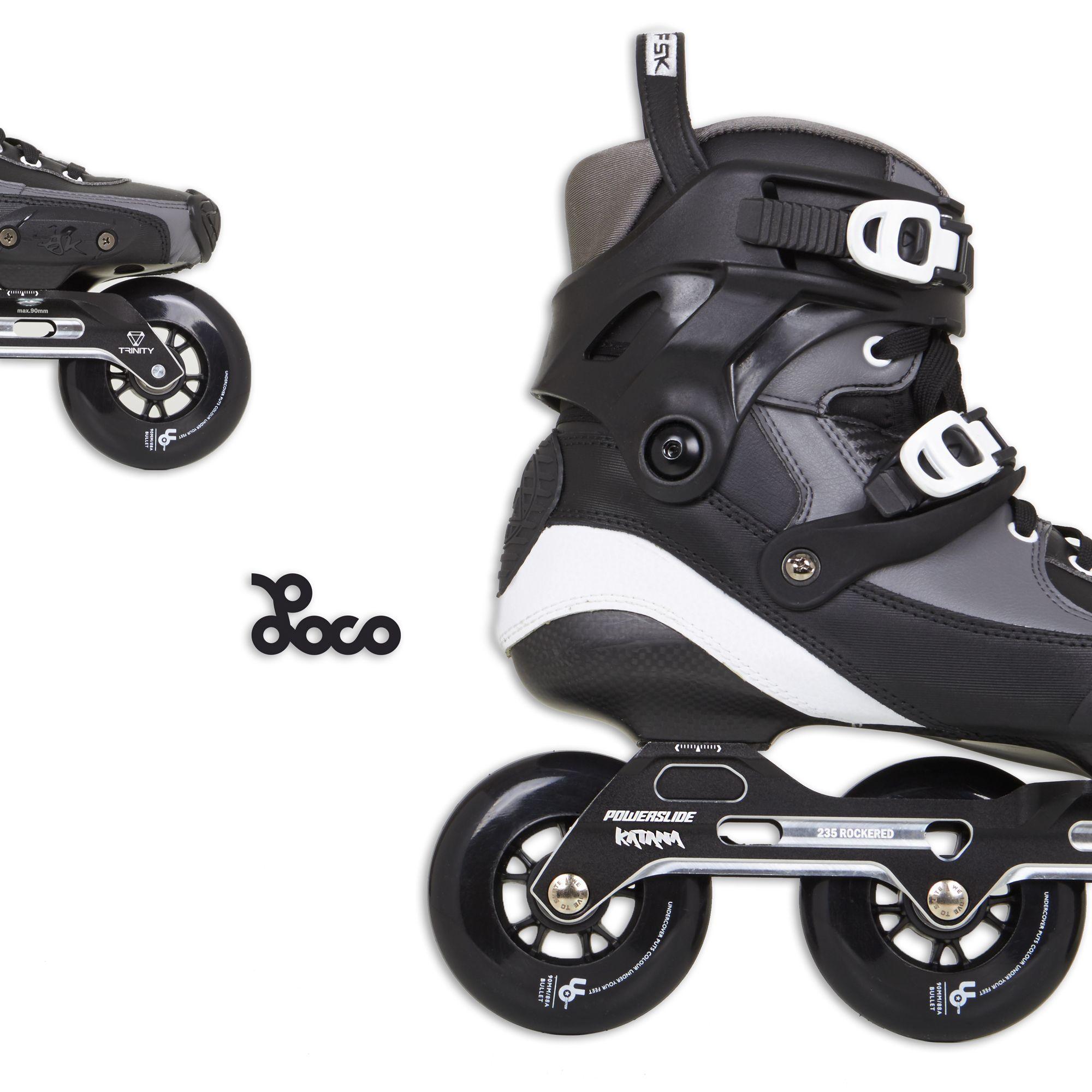 Powerslide Tau 90 2018 Trinity Fsk Skates Powerblade Pro Boot Only Trinitytau90