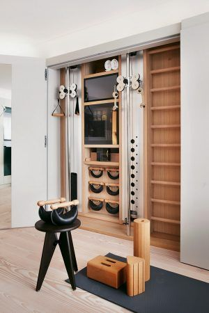 chic workout room at home style fitness in 2020  home