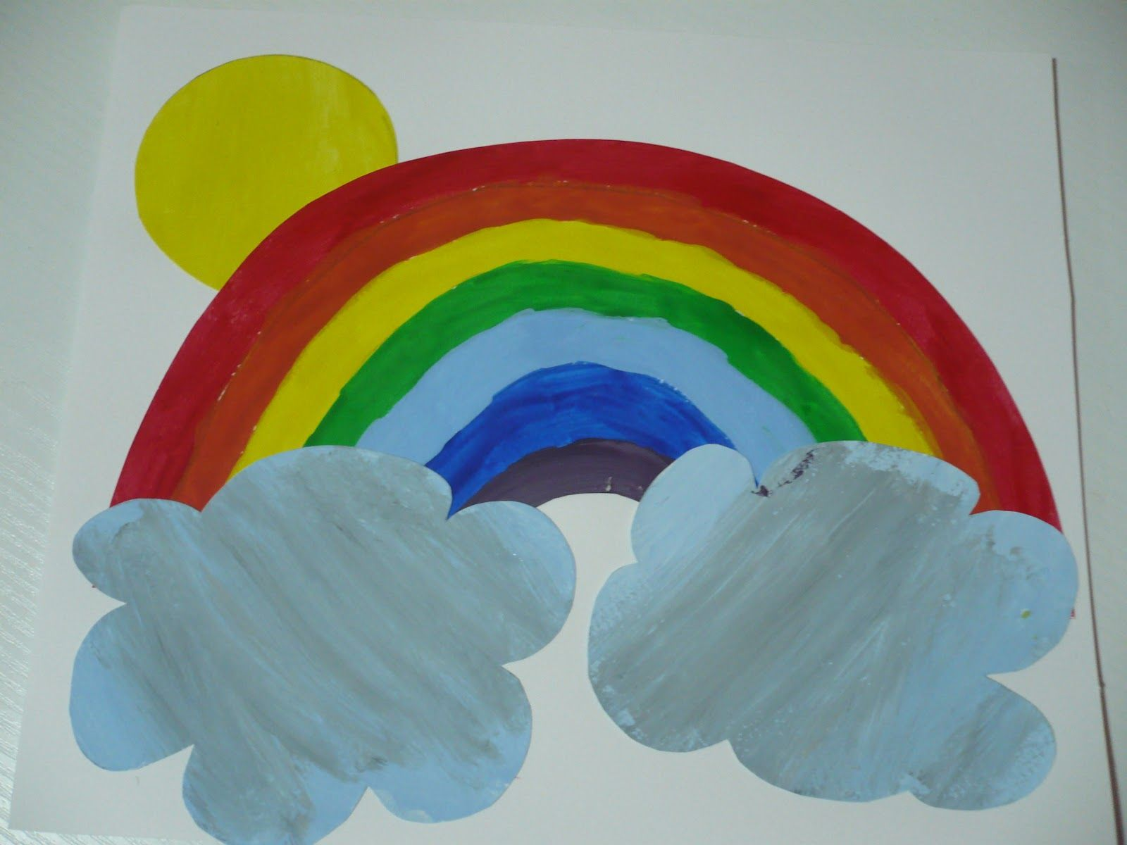 Maro S Kindergarten Rainbow Craft Rainbowcrafts