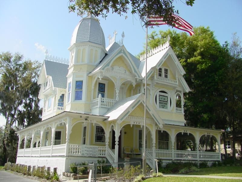 Donnelly House, Mount Dora, FL #historichomes