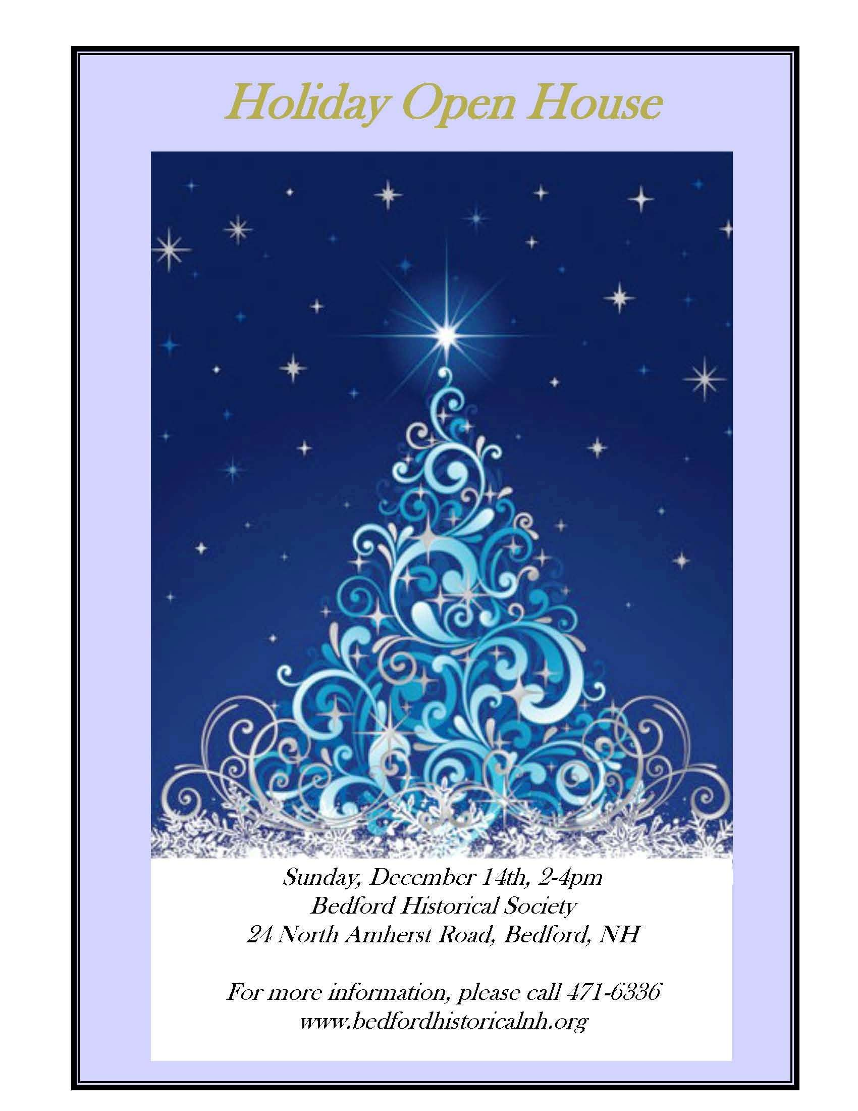 Holiday Open House December 14, 2-4pm | Upcoming Events | Pinterest ...