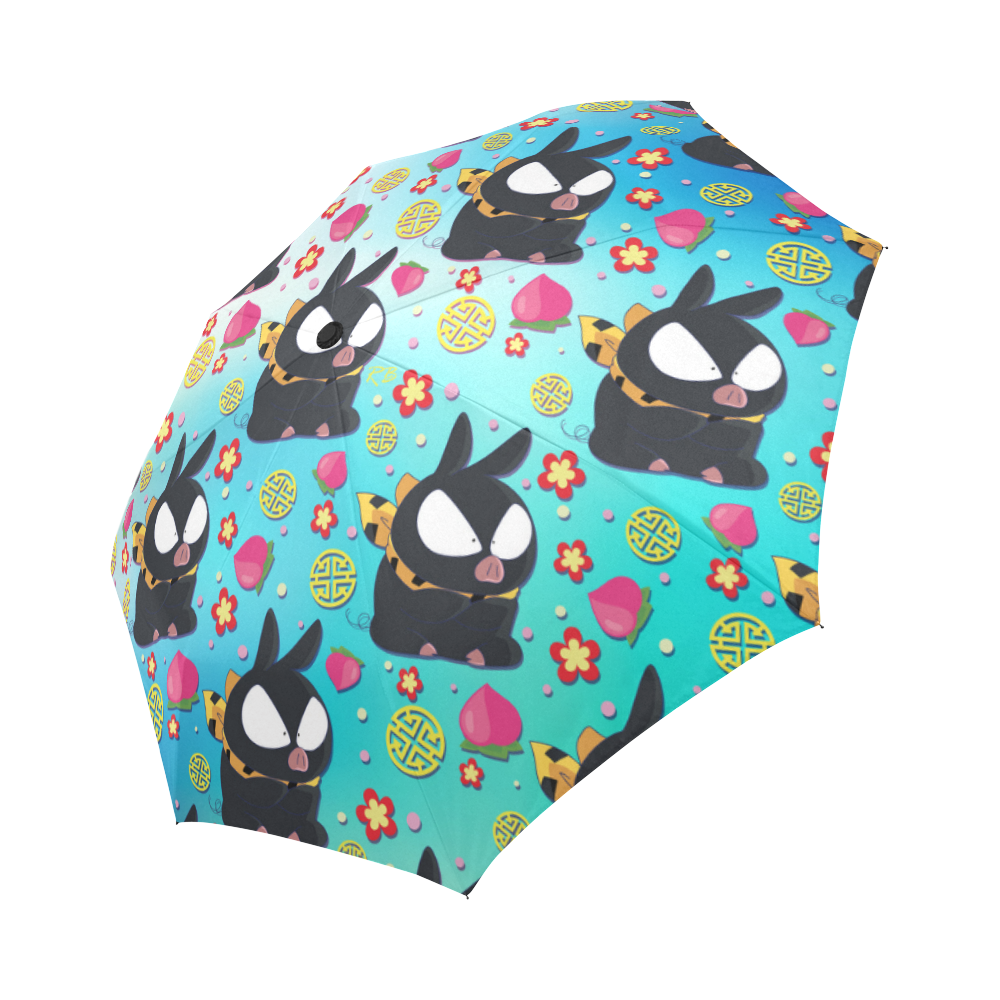 Pchan Pattern Auto-Foldable Umbrella
