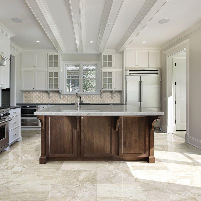 Floor Diana Royal Polished Marble Tiles; Backsplash