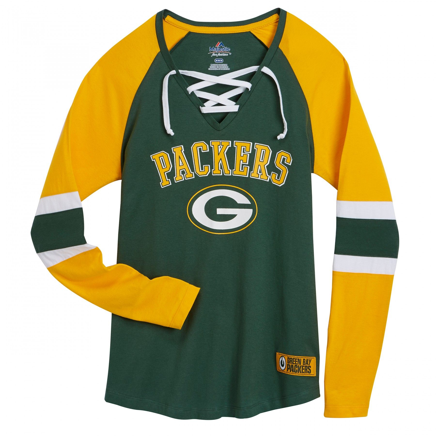 Green Bay Packers Women S Winning Style T Shirt At The Packers Pro Shop Packers Womens Green Bay Packers Shirts