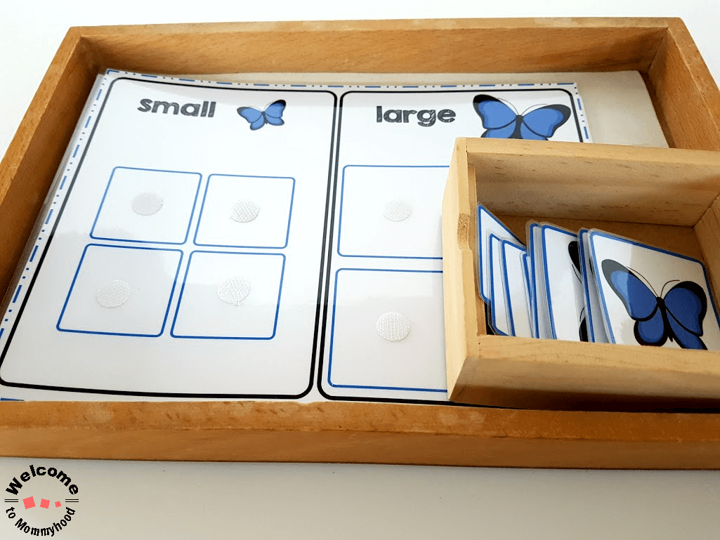 Teach Your Kids About Size Sorting With Our Butterfly Size